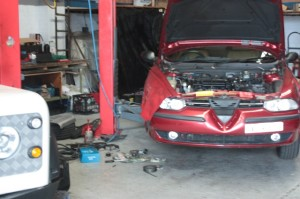 Alfa Romeo 156 service and repair