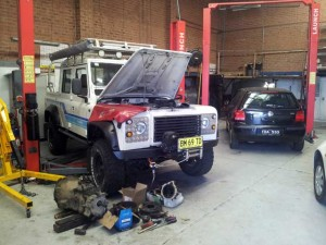Land Rover repair for Paul from Girraween