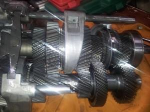 Nissan 350Z gearbox repair