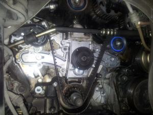 Alfa Romeo V6 water pump replacement
