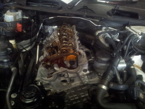 BMW N46 cylinder head repair