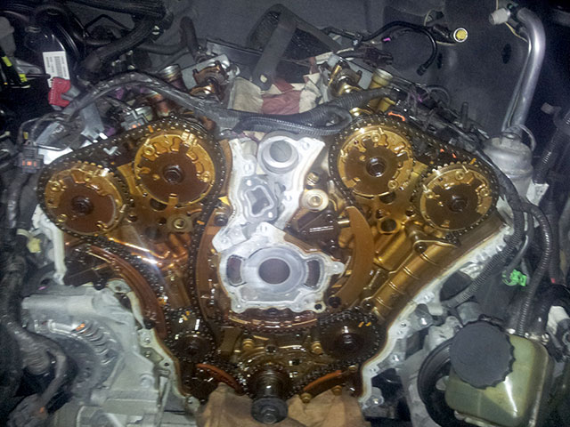 Holden Commodore VE timing chain replacement for Seven Hills client