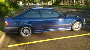 1998 BMW 318is repair for client from Blue Mountains