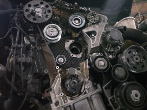 Audi A4 TDI timing belt replacement