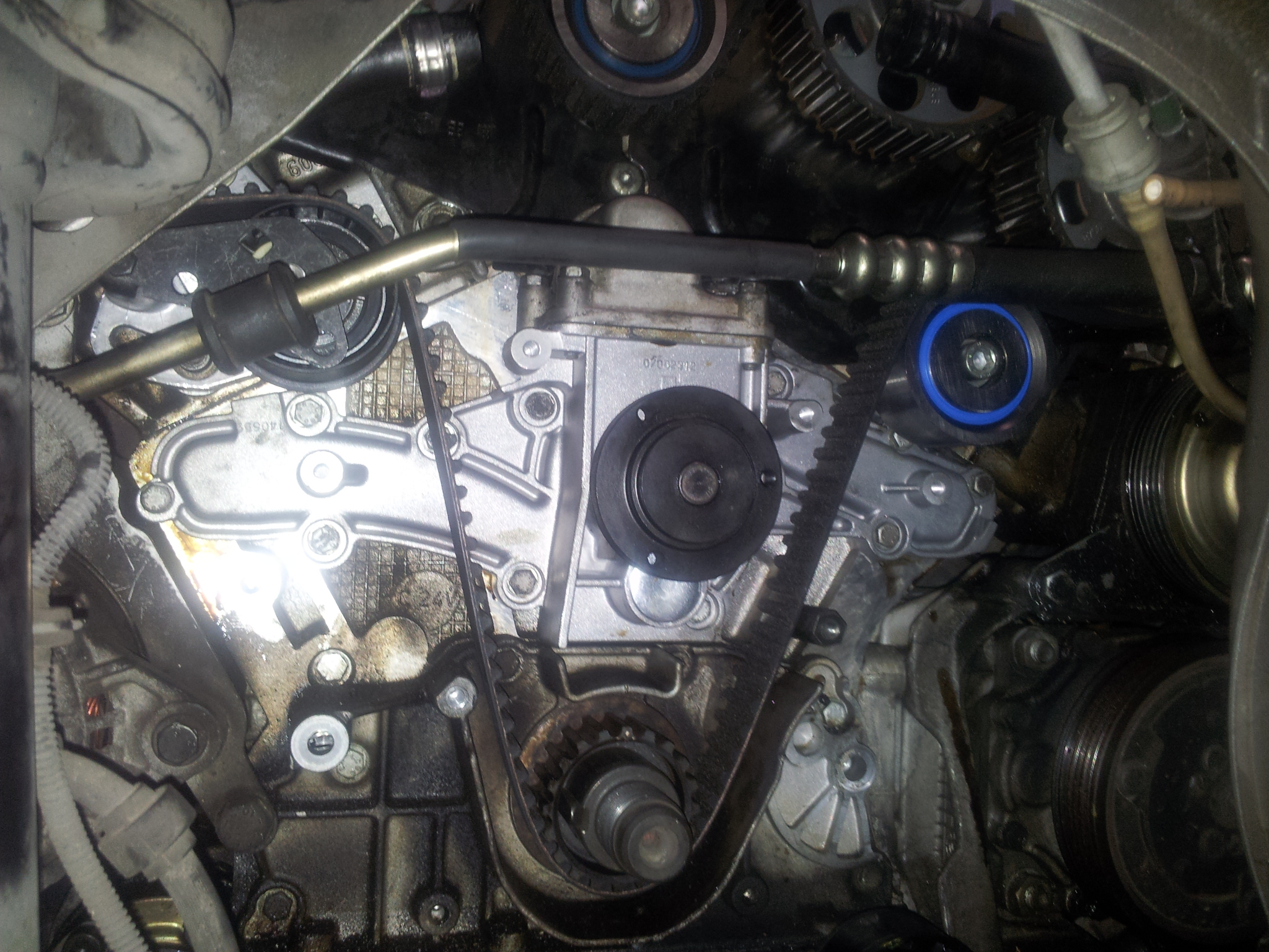 Alfa Romeo 166 Repair For Client From Penrith Timing Chain V6 Water Pump Replacement